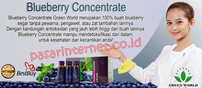 blueberry concentrate