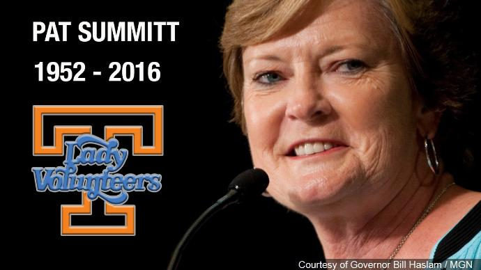 Lady Vols Head Coach Emeritus Pat Summitt passes away at 64-years-old https://t.co/lMxRzPVtQp https://t.co/qvRkMS2oVQ