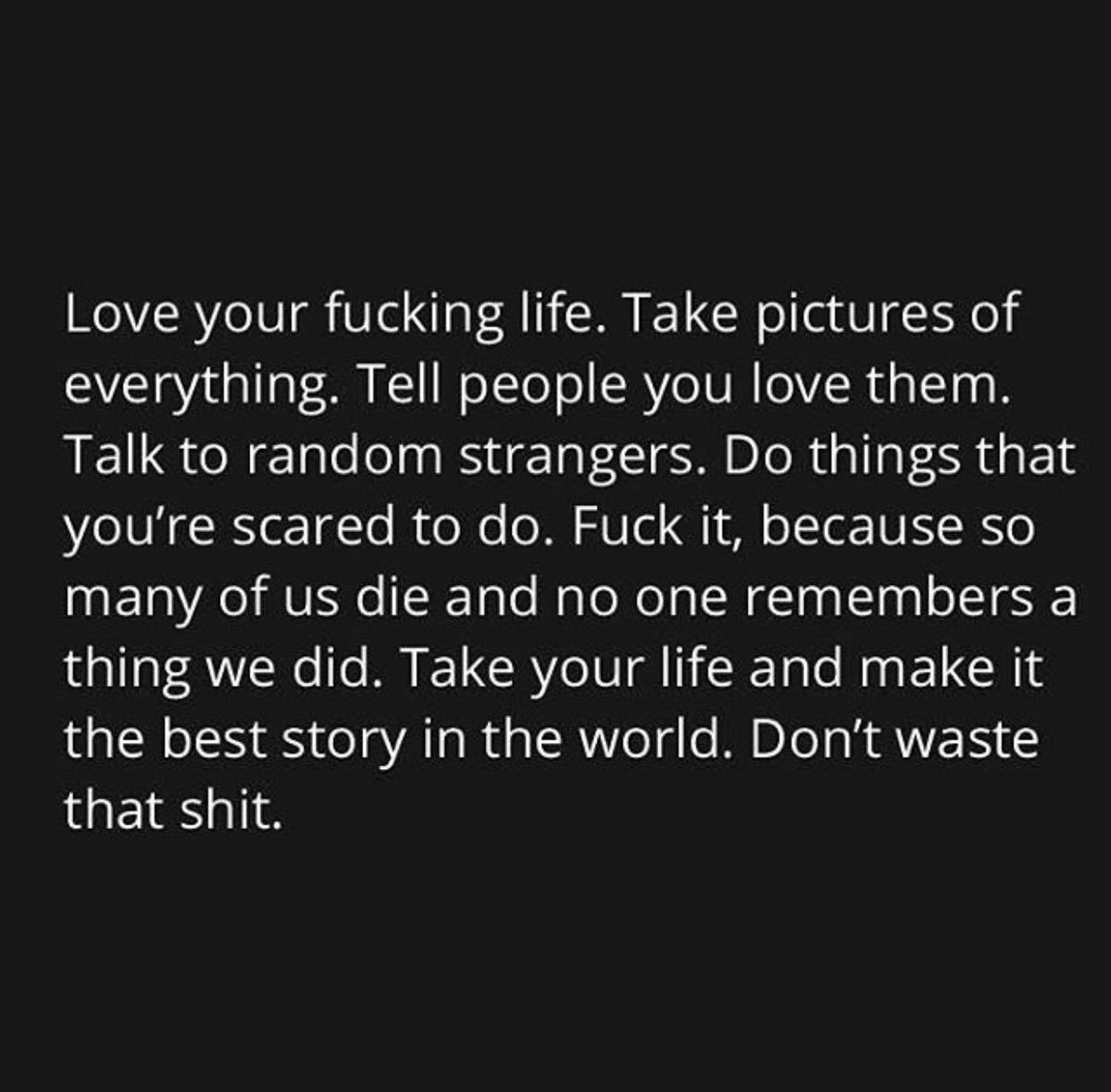 what to do when life is shit