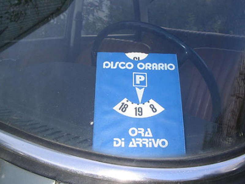 In Finlandia si può usare il disco orario italiano per parcheggiare