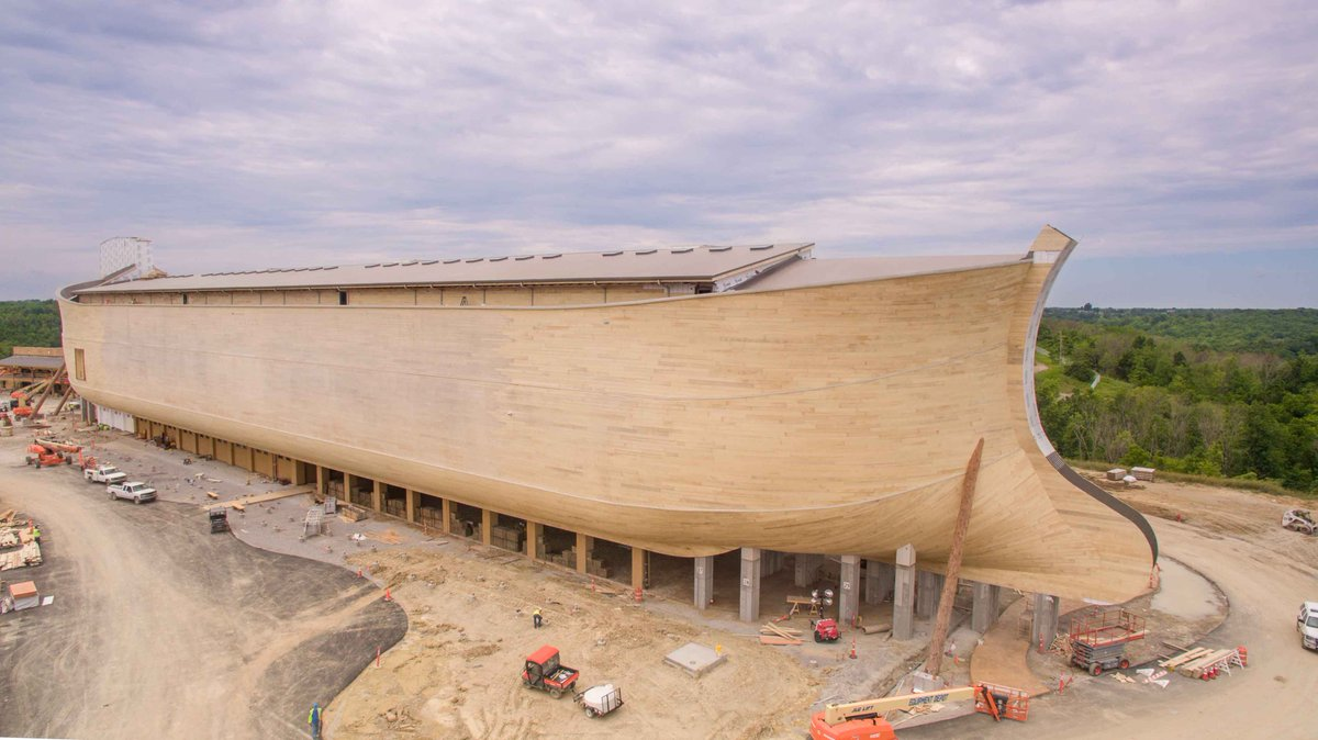 Ken Ham On Twitter A Blessing To Have A Major World Class Themed Attraction That S Christian Family Friendly Arkencounter Opens July 7 Although he hails from australia, where beer does flow and men chunder all the kangaroos floated during the flood. twitter