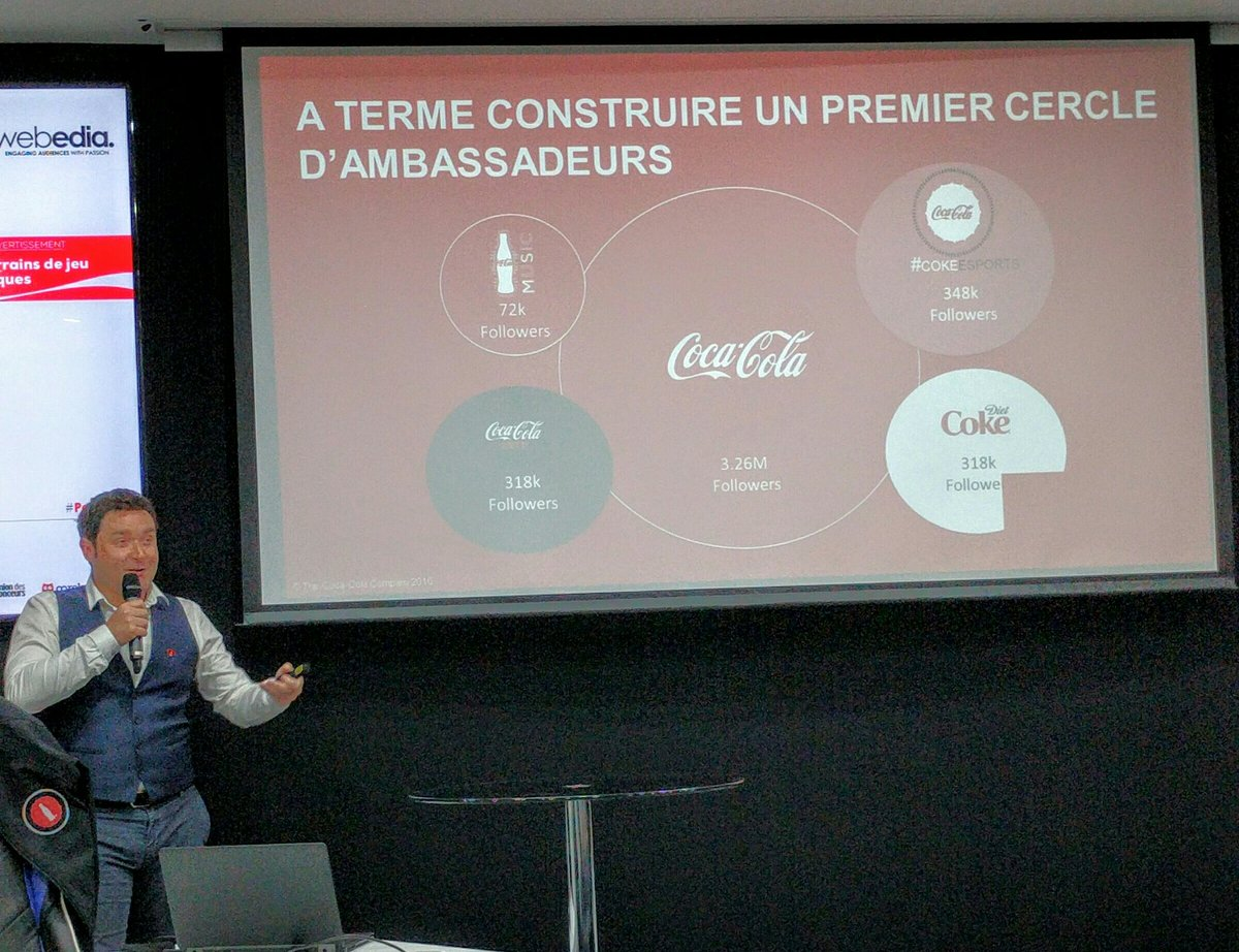 More followers/ambassadors for @CokeEsports vertical than for Diet Coke/Coke Zero #brand #engagement #PetitClub <br>http://pic.twitter.com/YkyYVyJrLT