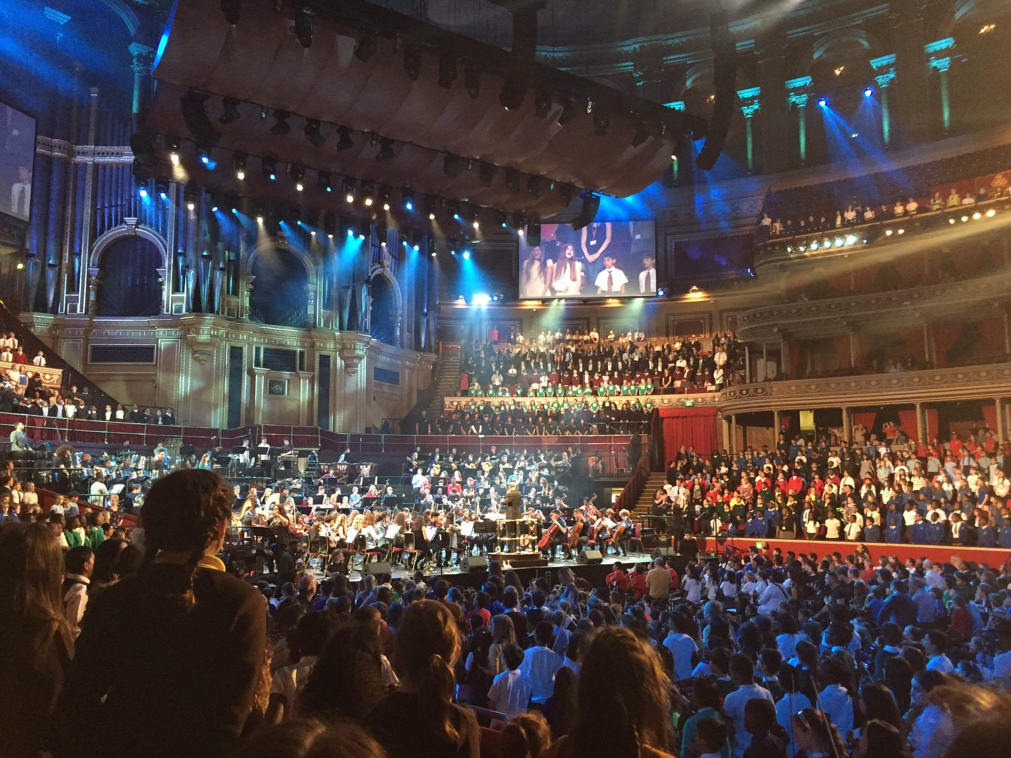 ... Which the children will remember forever. I felt so honoured to be there.8 years old at @RoyalAlbertHall https://t.co/fuC8Jc88qm