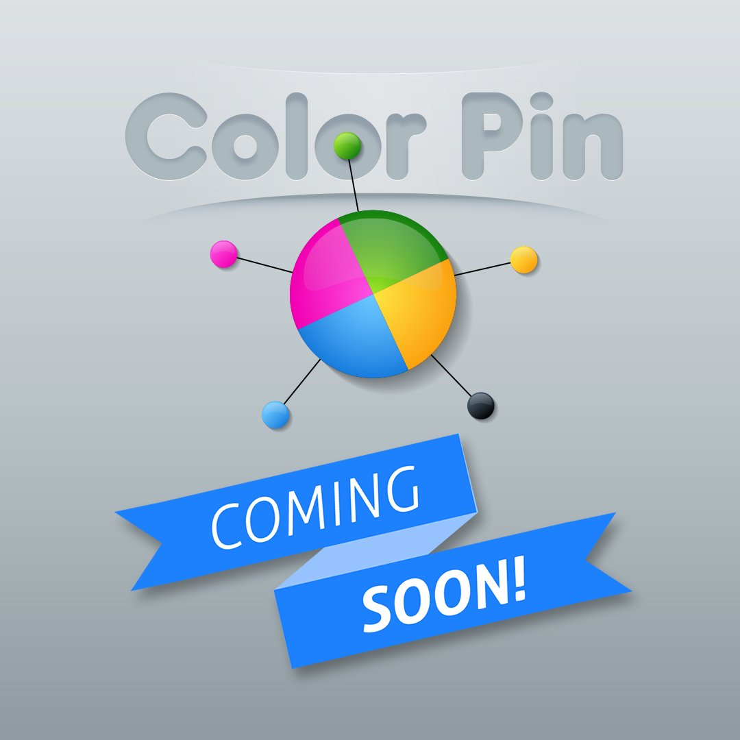 #ColorPin #ComingSoon #AndroidGame #InLogicGames #GameDev https://t.co/JimEJ7f7AQ