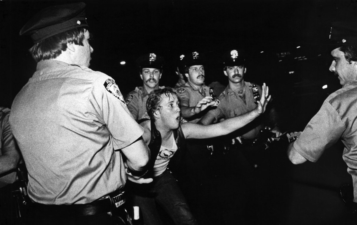 47 years ago today people took a stand & said they weren't gonna take it anymore, never forget #Stonewall https://t.co/S1nTCRfcX8