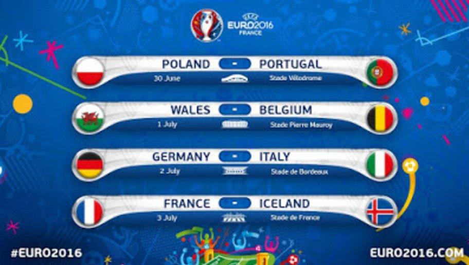 Quando si giocano i quarti di finale di Euro 2016 con Italia-Germania, orario diretta tv e streaming gratis