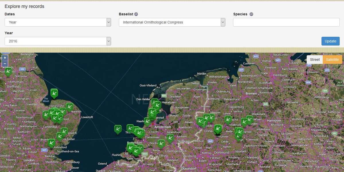 BirdTrack On Twitter Two New Features Available In BirdTrack - Map my data