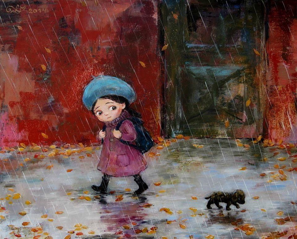 Холодная осень картинки для детей, картинки для мам