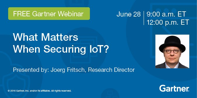 What Matters When Securing IoT?