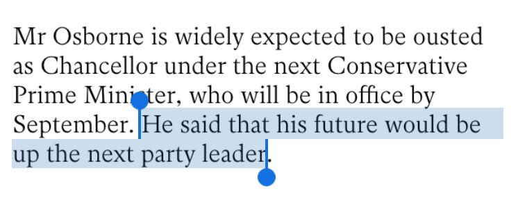 Very much enjoying this typo in the last line of the Independent's article on George Osborne today. https://t.co/bsDkUkSKvb