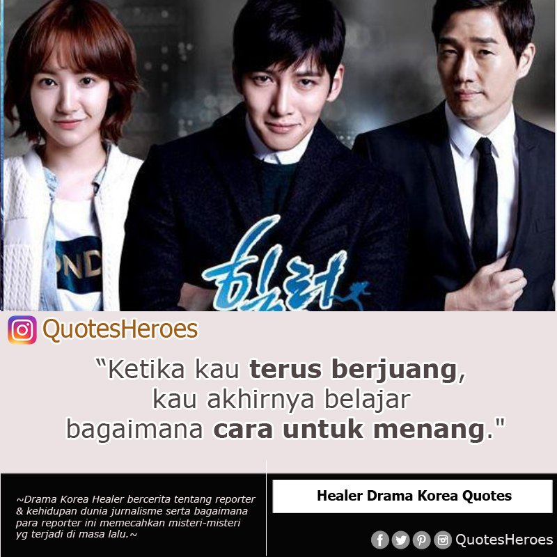kutipan film kdrama on healer drama korea quotes