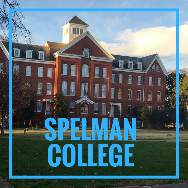 "Yes, there's only one ""L"" in Spelman. #GrowingUpWithMyName https://t.co/bToLP653kT"