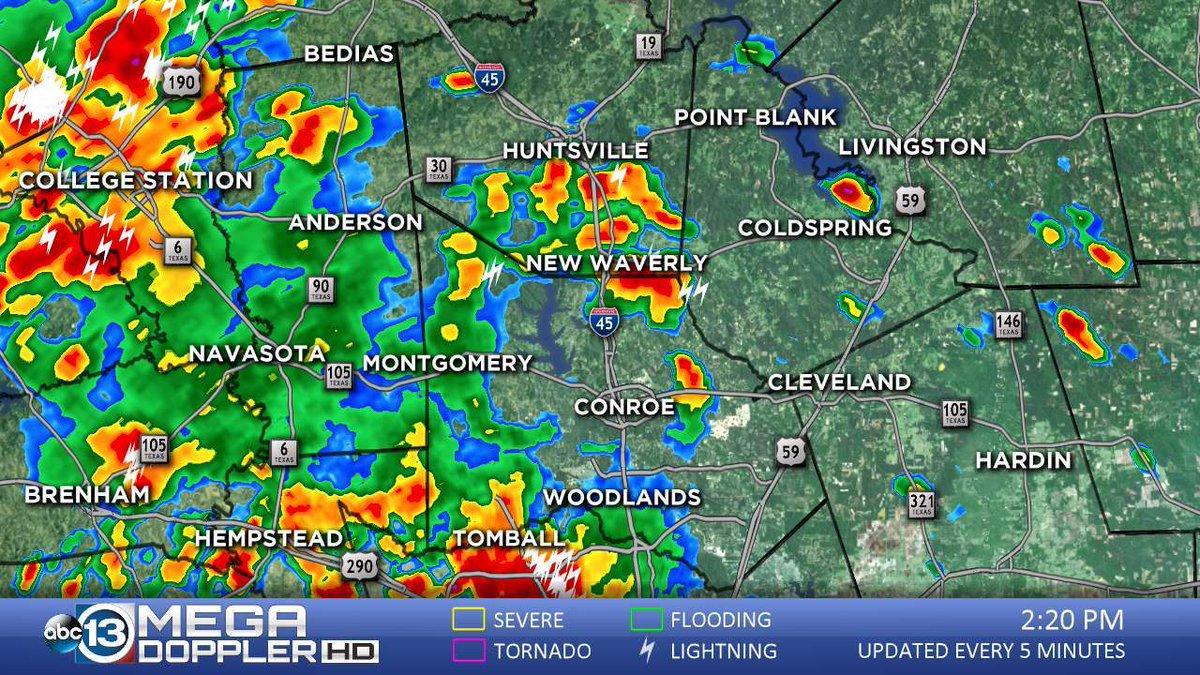 ABC13 Houston on Twitter Check countybycounty Mega Doppler