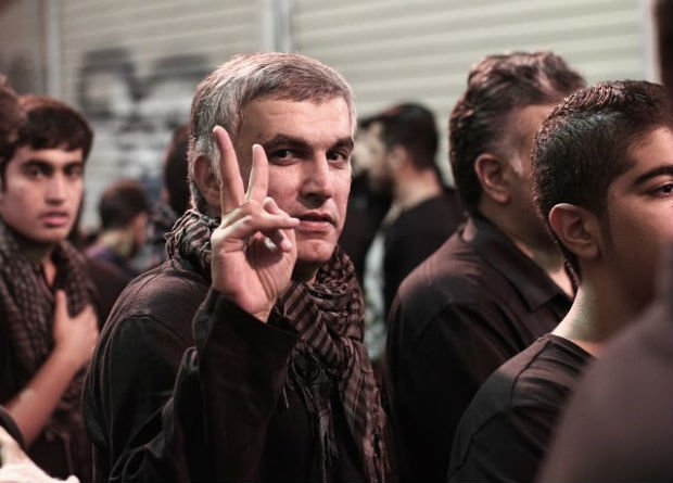 Bahrain: Nabeel Rajab hospitalised after 15 days in solitary confinement https://t.co/KQXyKS7VDT https://t.co/c6Yaktyizu