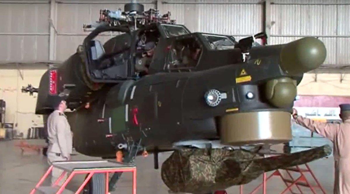 قيادة طيران الجيش تتسلم دفعة جديدة من طائرات mi28 (صائد الليل) الروسية CmDHokLXEAEwOir