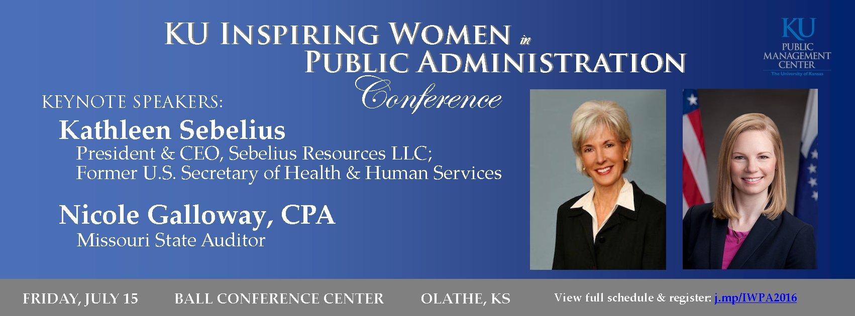 Thumbnail for 2016 Inspiring Women in Public Administration Conference