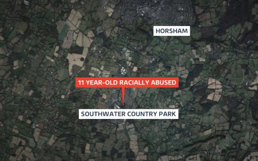 11 year-old girl racially abused in Sussex. Police say it is linked to the referendum result https://t.co/c1t4PTQwQ9 https://t.co/ELcLp3Ftd6