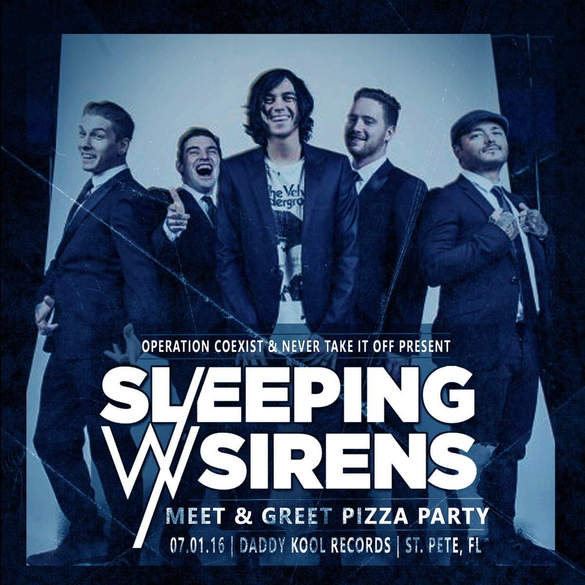 Sleeping with sirens on twitter st pete come hang with us at sleeping with sirens on twitter st pete come hang with us at our post warped meet and greet and official after party this friday m4hsunfo