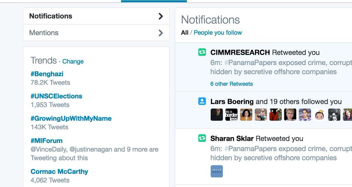 No big deal. We're trending. #MIForum https://t.co/jHIHwnAgtY