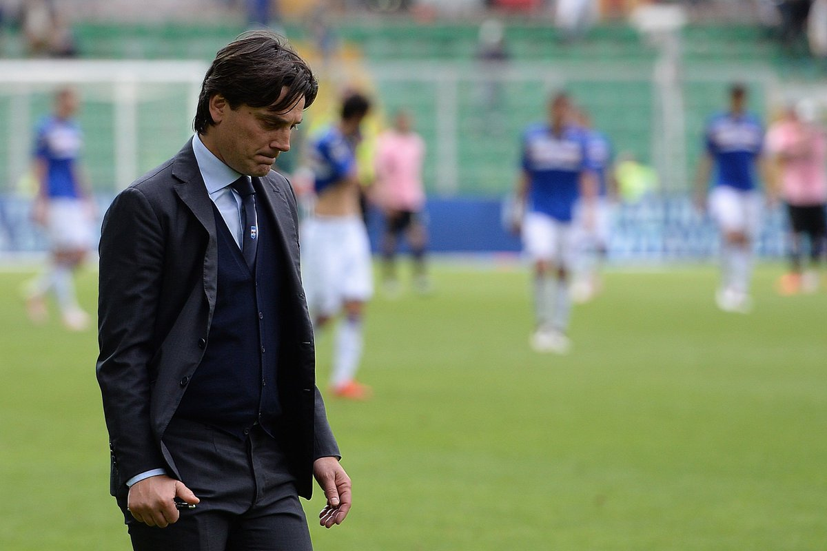 AC Milan: Montella chỉ còn 5 trận để giữ ghế