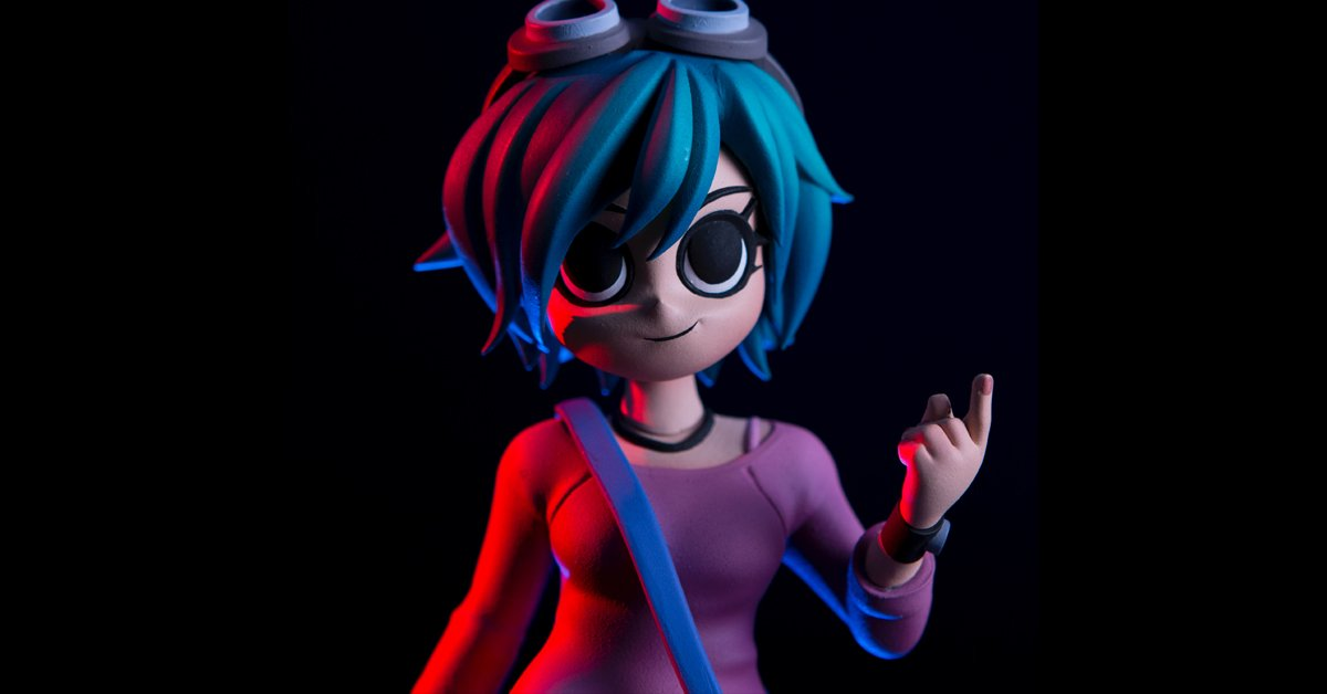 The Ramona Flowers Collectible Figure is ON SALE NOW! #RamonaFlowers #ScottPilgrim https://t.co/BQ9CVs6wHZ https://t.co/Cac2oWtpMh