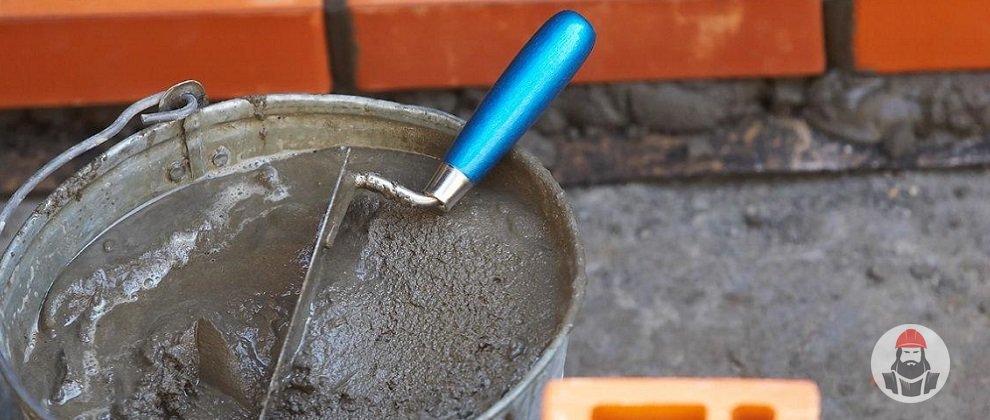 цементный раствор на жидком стекле