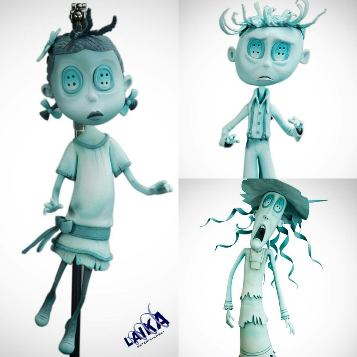 Laika Fan On Twitter Ghost Children Puppets From Coraline By Victoria Rose Laikastudios Animation Oregonfilm