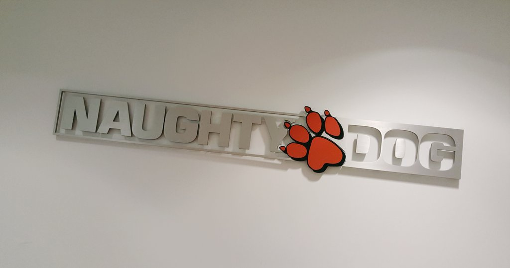 Day one. Thrilled to join the team at @Naughty_Dog. https://t.co/4pZChQPCXM