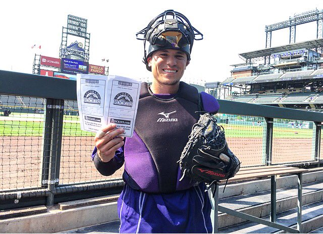 I'm giving away 2 tickets for tomorrow's game! RETWEET for a chance to win! #GoRockies @Rockies #VoteRox https://t.co/6whjvaWP1v