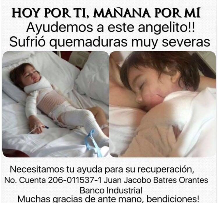 SERVICIO SOCIAL,  La familia del pequeño Juan Jacobo está pasando un momento difícil por un accidente... https://t.co/UbTlYcTPFj