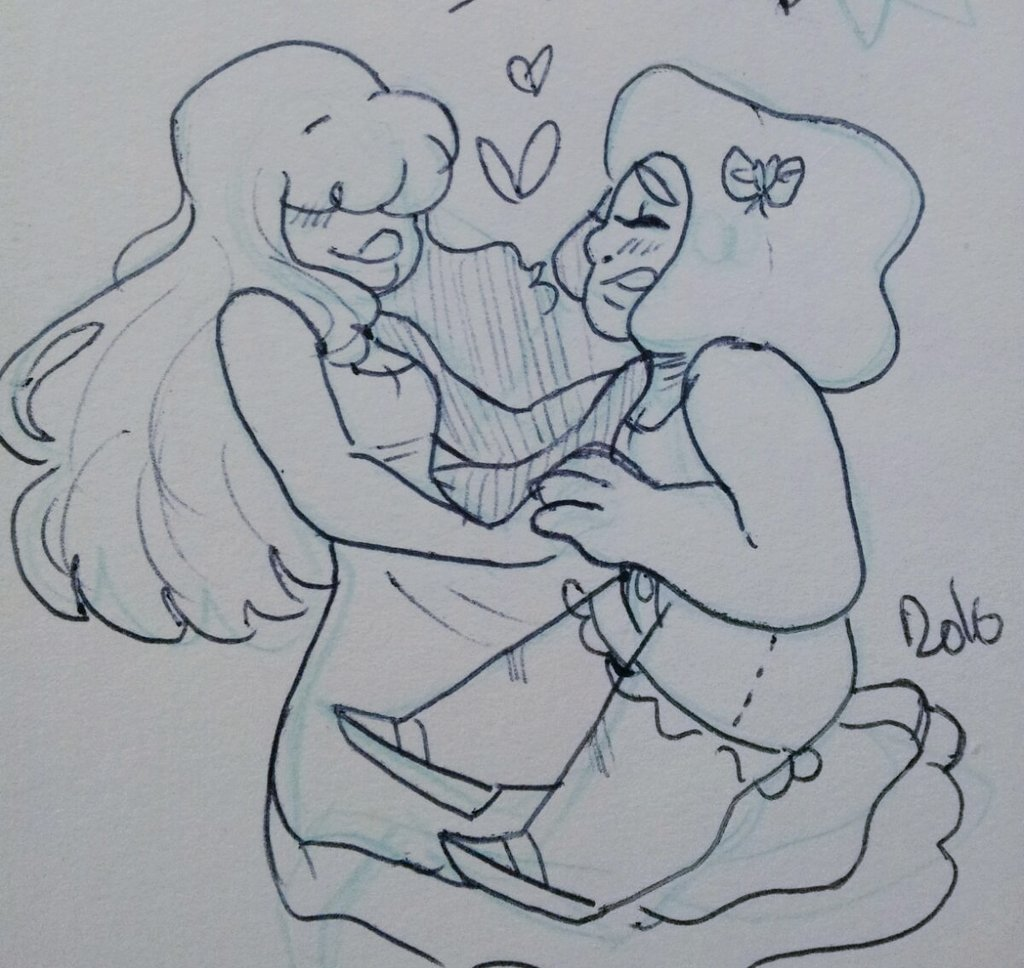 """this woman is my destiny #rupphire #StevenUniverse"""
