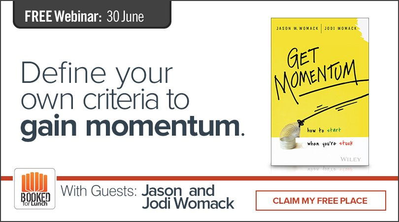 .@JasonWomack & @JodiWomack share how to define your personal criteria to gain momentum. https://t.co/iTNzlgyuF9 https://t.co/q3JYvvTws4