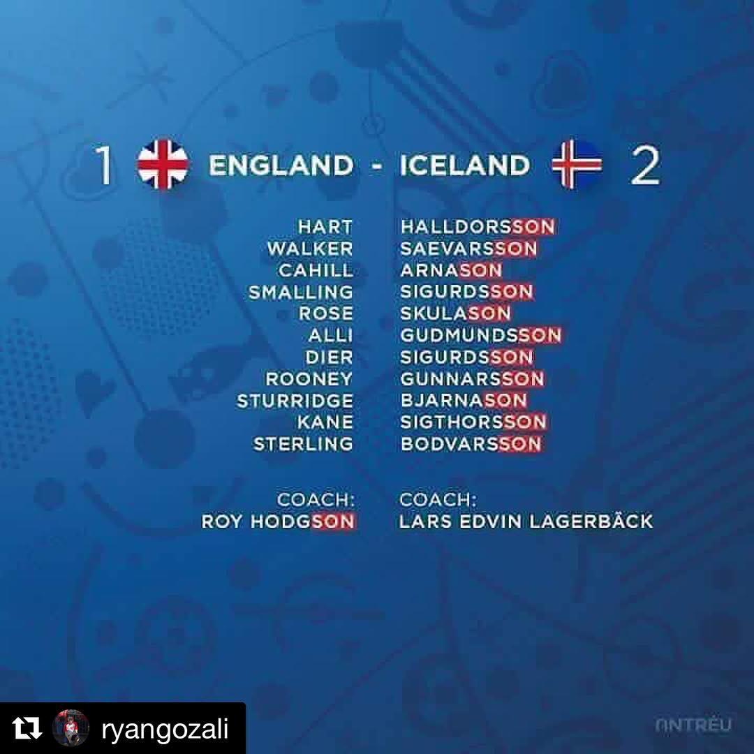 잉글랜드가 아이슬란드에게 진 이유라고 하는데..... ^^; https://t.co/XLibxW1rka