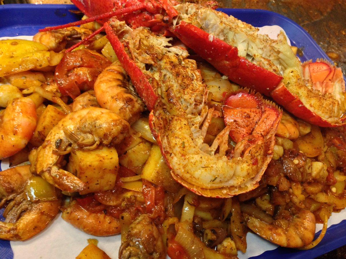 San pedro fish mkt shrimptray twitter for San pedro fish market super tray