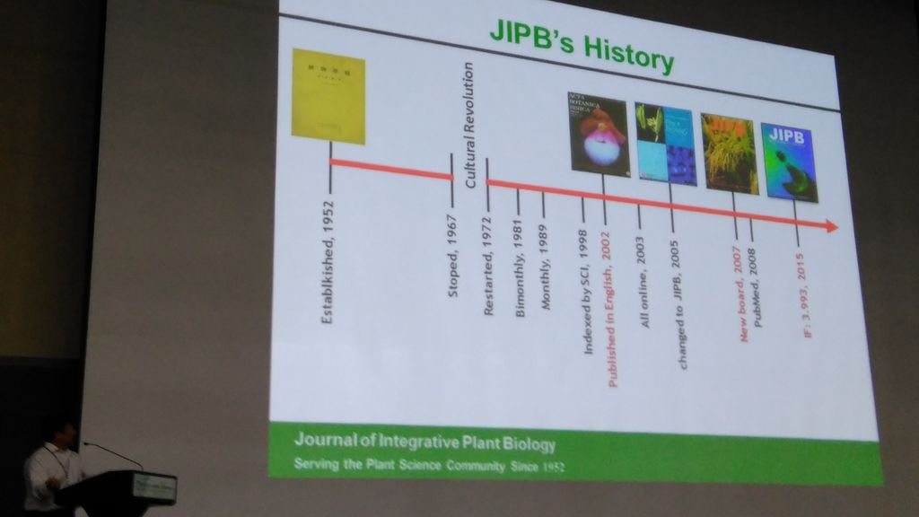 #ICAR_2016 Check out this timeline from J. Intr. Plant Biol. (From China) ! https://t.co/8NrJ3IEVsQ