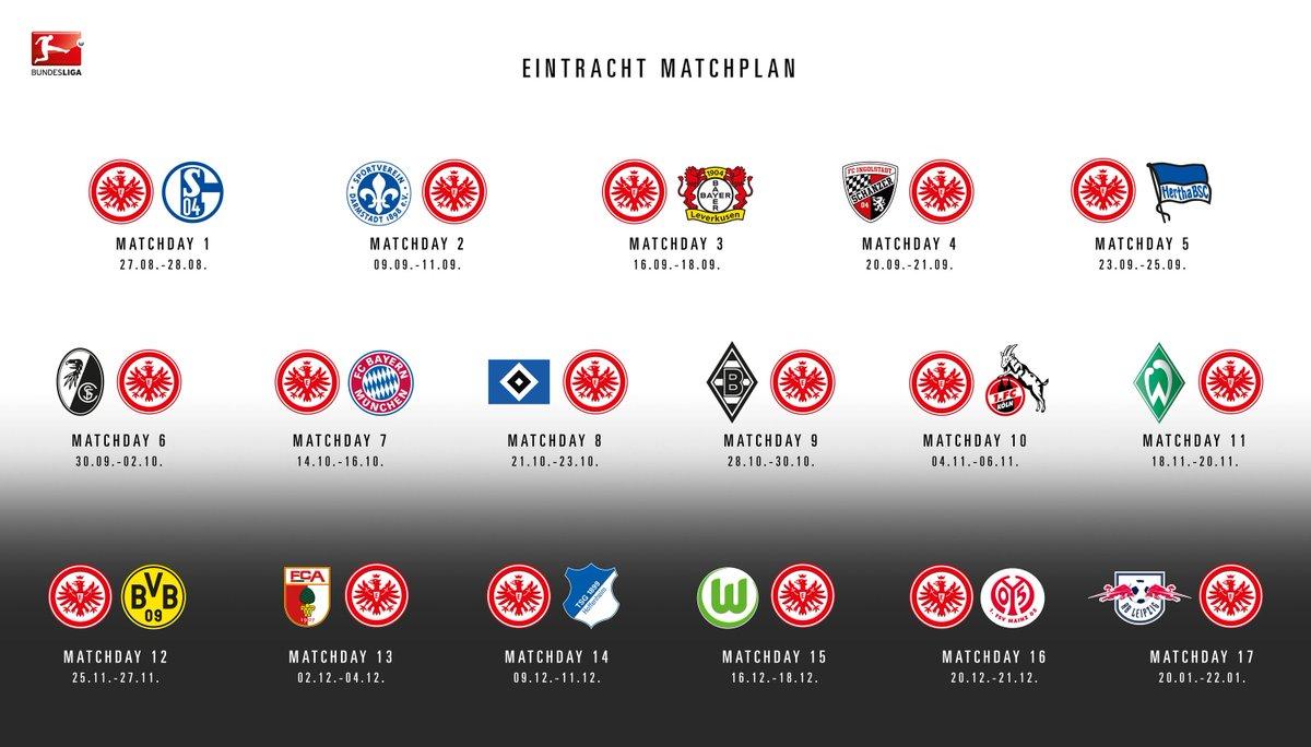 Eintracht Frankfurt Spielplan 2021/18
