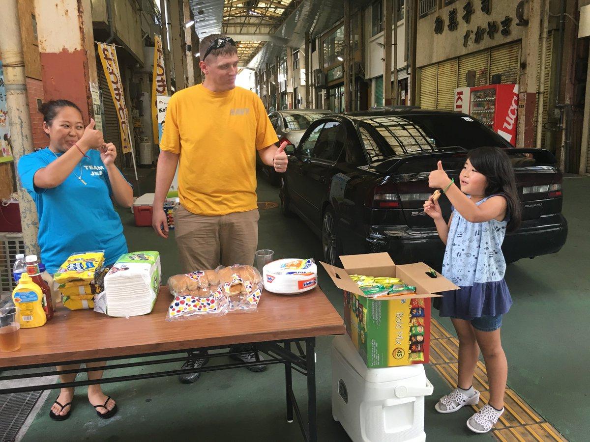 沖縄市にある子供フードバンクであるキッズカフェで子供たちとBBQを楽しみました。今度はいつ来るの〜?と嬉しいリクエスト! https://t.co/8mi1jtAobE