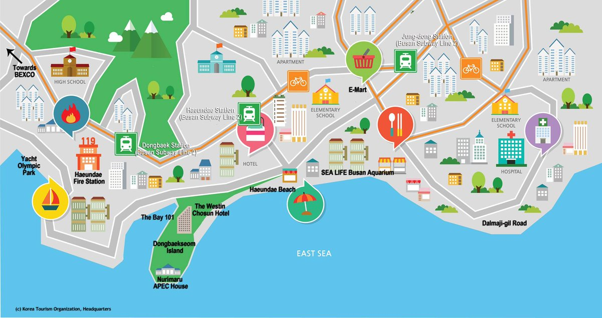 VisitKorea on Twitter MAPS of Jeonju Gyeongju Busan Which