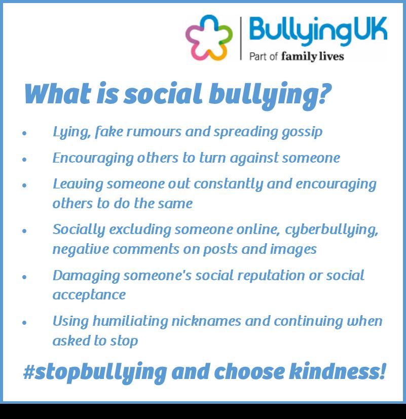 What is social bullying? https://t.co/RVSGC7sT01 https://t.co/c1MMGlpV4X
