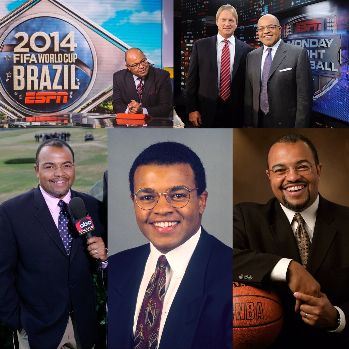 """Mike Tirico: Bill Hofheimer On Twitter: """"25 Yrs To The Day Of Joining"""