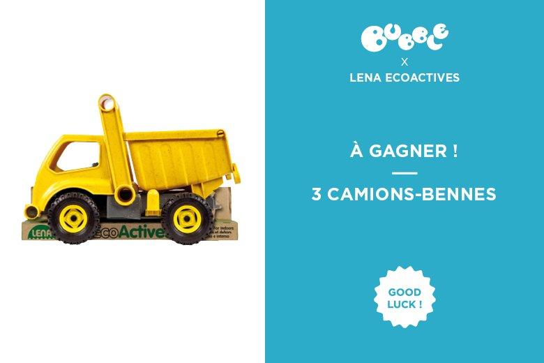 Les camions ils adorent ? Ceux de Lena Eco Actives sont éco-responsables. Gagnez en un ! https://t.co/bBc7qsdRBD https://t.co/1UsPeaORxS