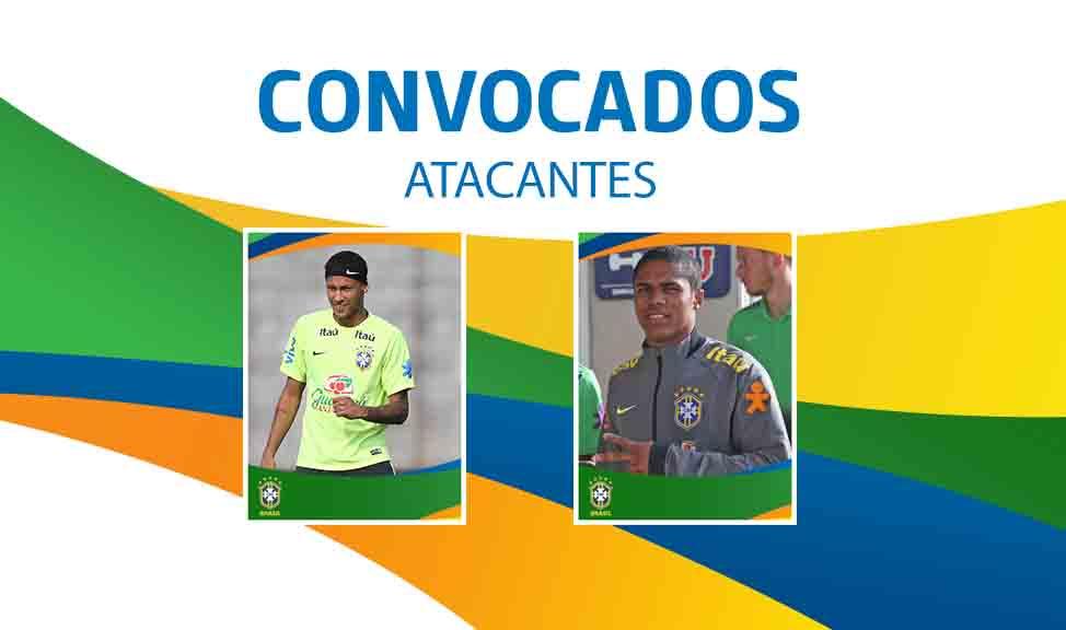 #SeleçãoOlímpica  Atacantes: Neymar e Douglas Costa