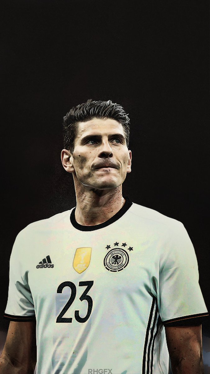 "Ronaldo Huzaifa on Twitter ""Mario Gomez Lockscreen Wallpaper"
