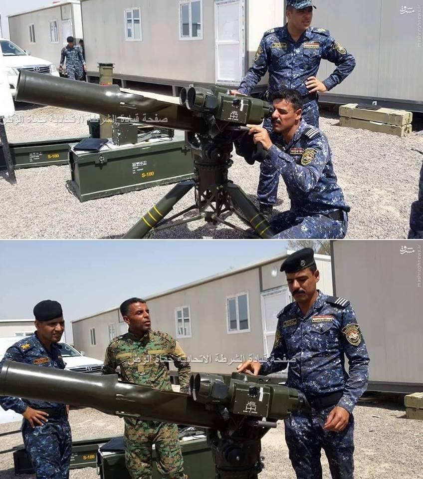 عائلة صواريخ طوفان الايرانيه المضاده للدروع  CmHVOznWIAA7gBp