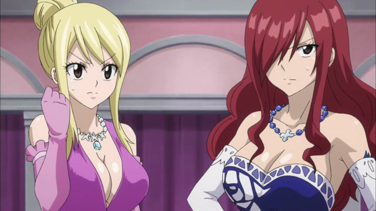 """ferry g dragneel on twitter: """"fairy tail episode 223. lucy"""