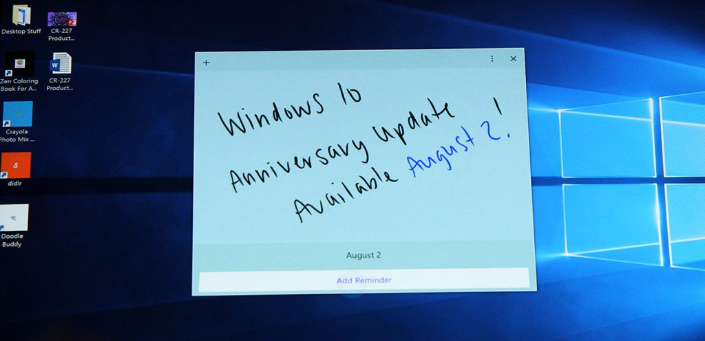 #Windows10 Anniversary Update Available August 2 https://t.co/GLmMTvzFpe https://t.co/570QjHpg3f