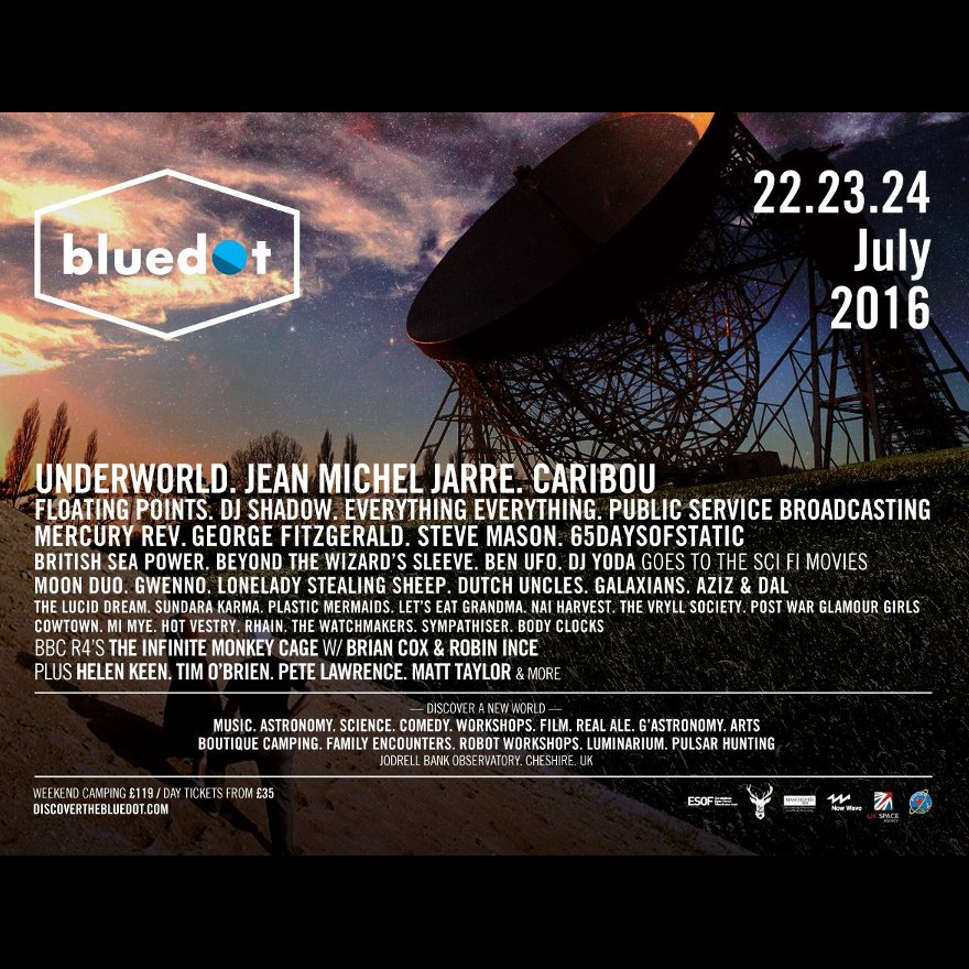 COMPETITION TIME!!! Like and share to win two free weekend tickets for Bluedot Festival for collection in store!!! https://t.co/S9GHUpWd8J