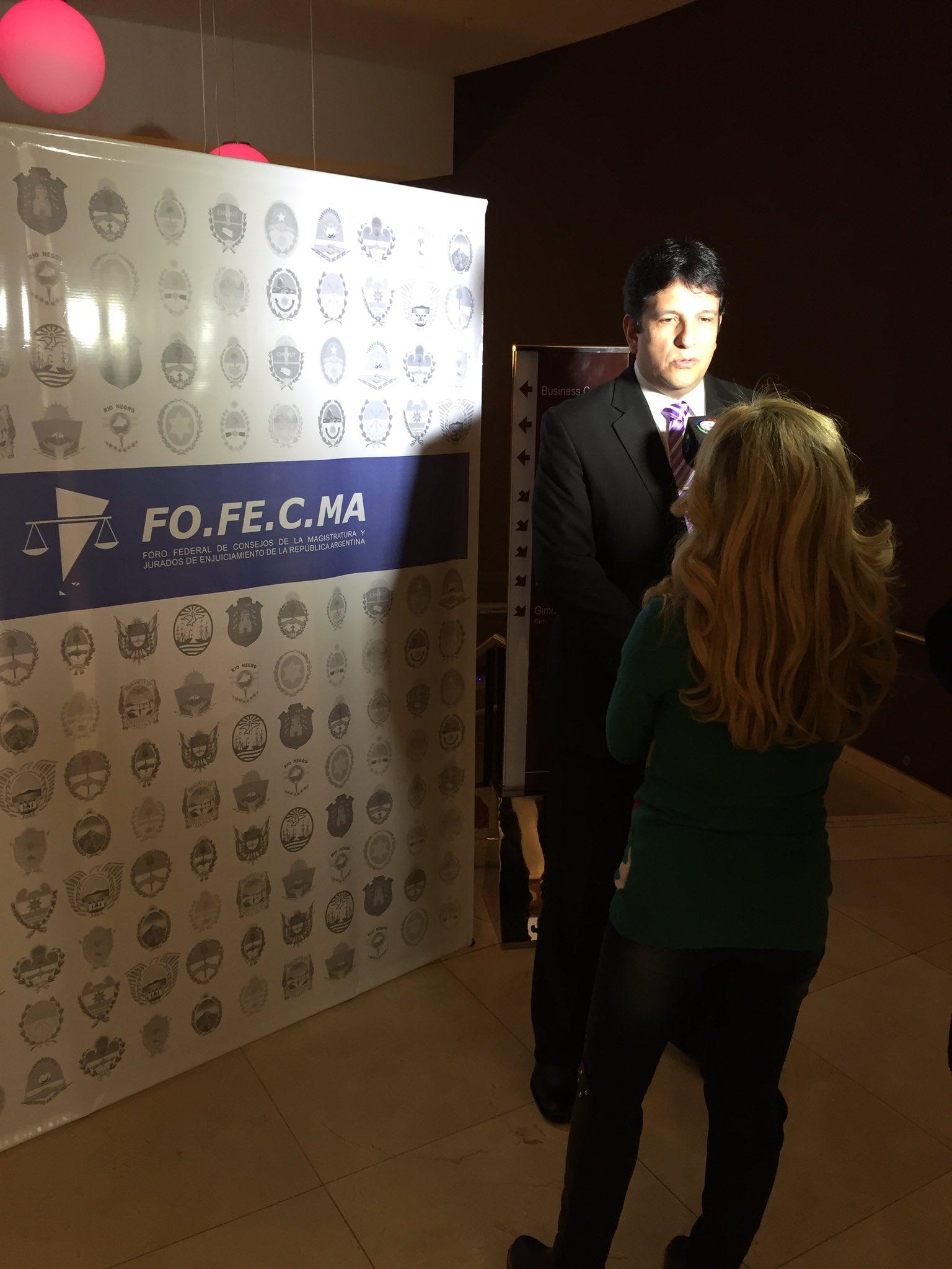 Arrancando las Jornadas @fofecma @CAM_TUCUMAN https://t.co/j9cSQxDZ3H