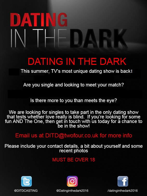 what is dating in the dark
