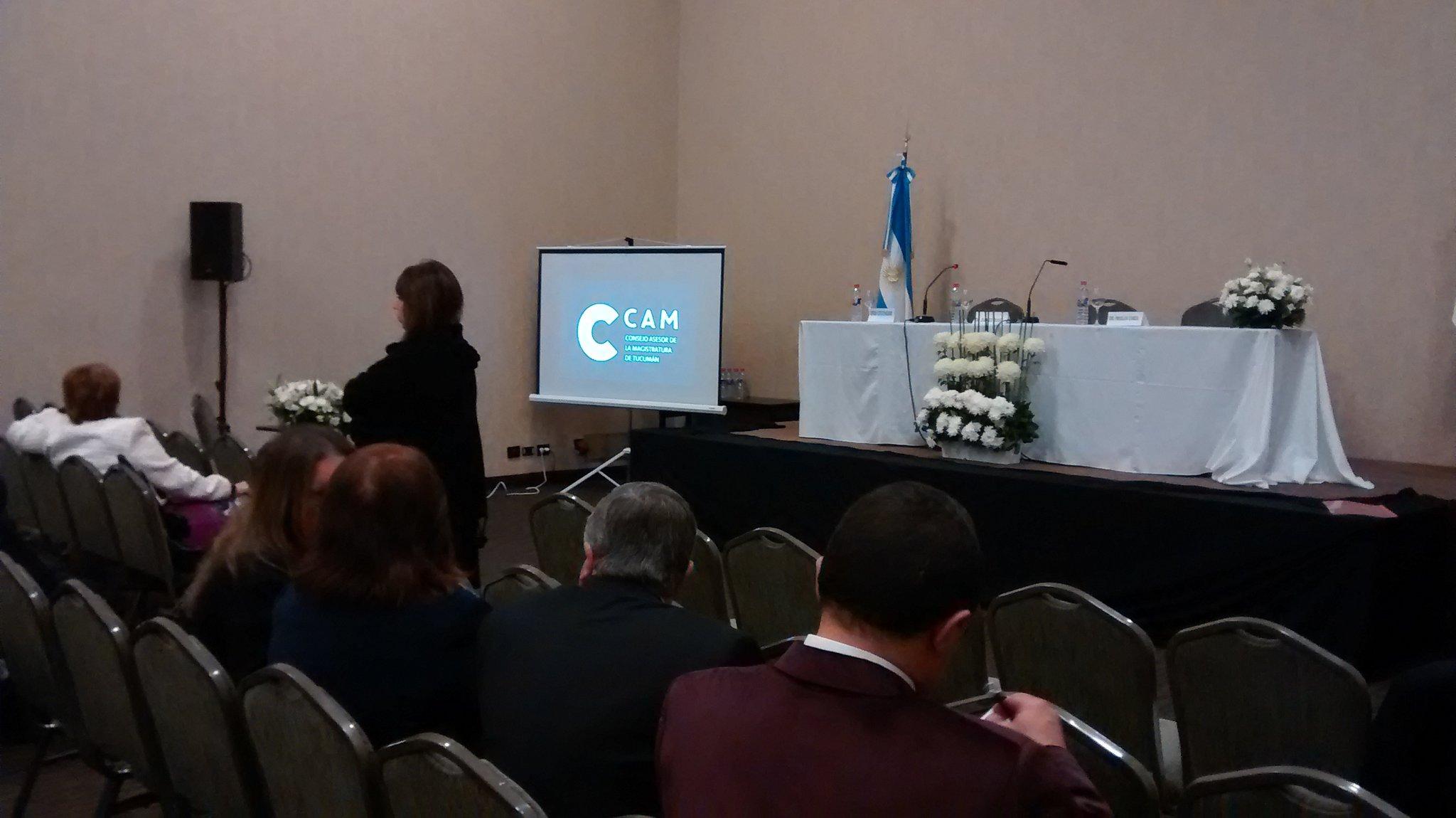 En momentos comienza el acto de apertura de las XVII Jornadas Nacionales  organizadas por el CAM y @fofecma https://t.co/L3R4tdSmp4